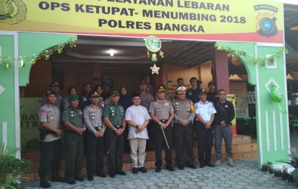 Pemantauan Pos Pelayanan Kota Sungailiat, Kabupaten Bangka