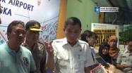 Embedded thumbnail for Menhub Cek Operasional Bandara Depati Amir Bangka